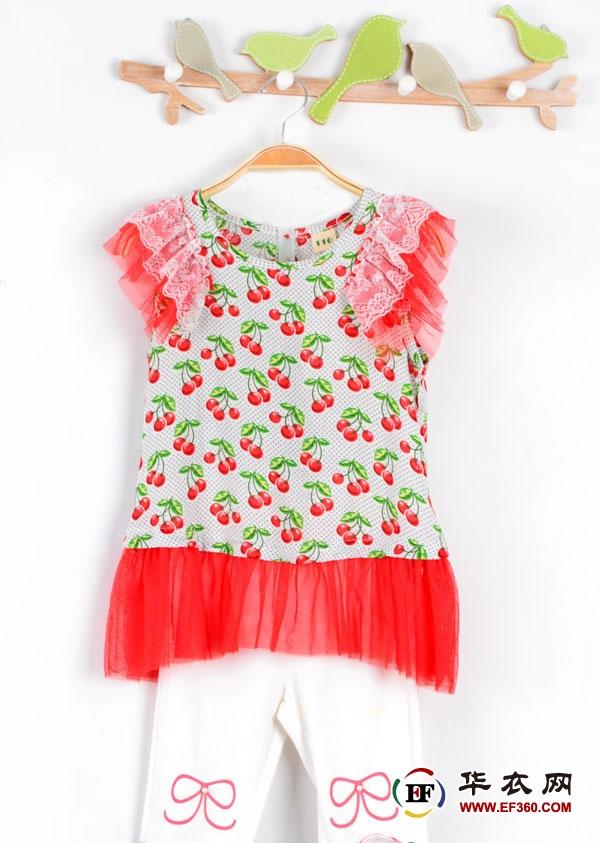 清爽休闲 这一季的趣味风尚由小鸟嘟比童装2016夏装新品领衔  生活